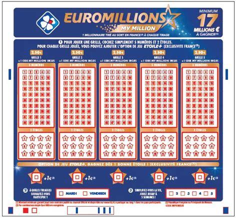 Euromillion Grille by Millions Des Nouveaut 233 S Et Plus De Gains 224 La