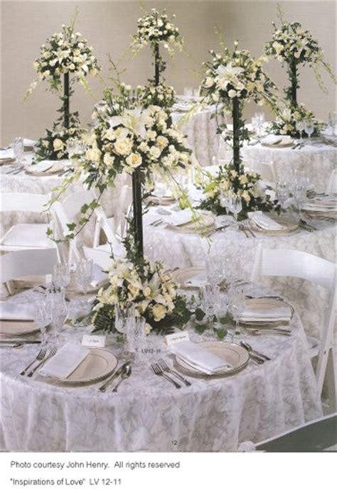 Center Wedding Flowers by Wedding Centerpieces Reception Decoration Ideas