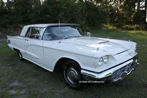 1960 ford thunderbird 2 door hardtop 352 make offer let 77