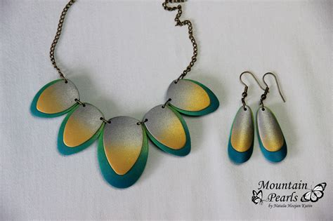 Handmade Clay Jewellery - handmade polymer clay jewelry sets 8