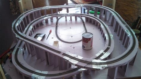 coffee table model railroad my coffee table layout begins part 2 model railroad