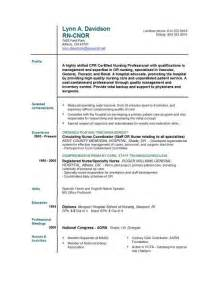 New Grad Resume by New Graduate Resume Rn Sle Writing Resume Sle Writing Resume Sle