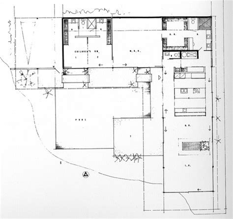 eames house floor plan ad classics stahl house pierre koenig archdaily
