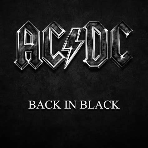 back in black ac dc back in black guitar cover by martial allart