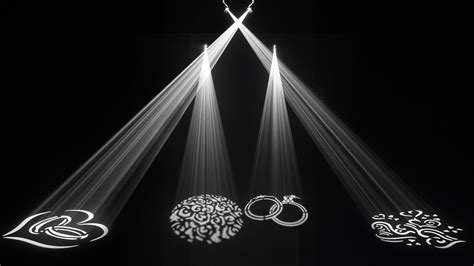 Gobo Light by Chauvet Dj Gobozoomusb Gobo Zoom Usb25 Watt Led Gobo