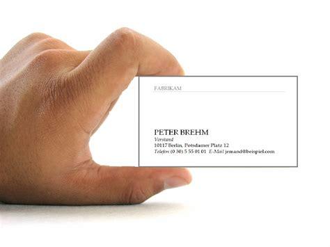 Vorlage Word Visitenkarte Kostenlose Visitenkarten Vorlagen Zum Herunterladen