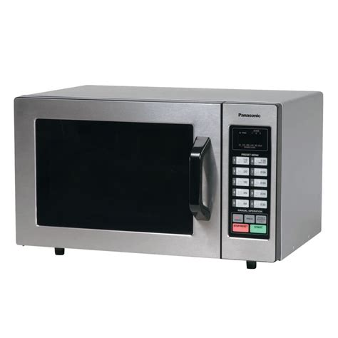 Oven Microwave Panasonic panasonic ne 1054f stainless steel commercial microwave oven 120v 1000w