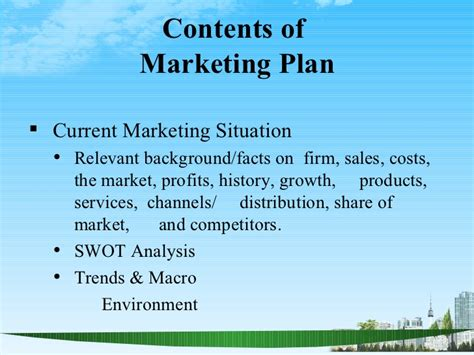 Mba Present Situation by The Marketing Plan Ppt Bec Doms Bagalkot Mba