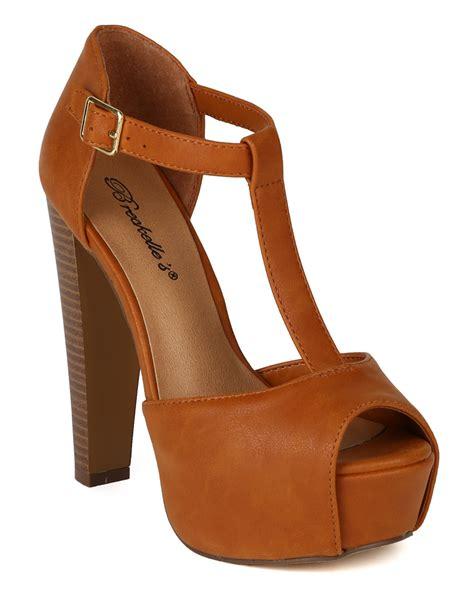 breckelles shoes breckelle brina 01s new leatherette t peep toe
