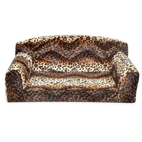cheetah couch animal predatory pet sofa new pet beds direct