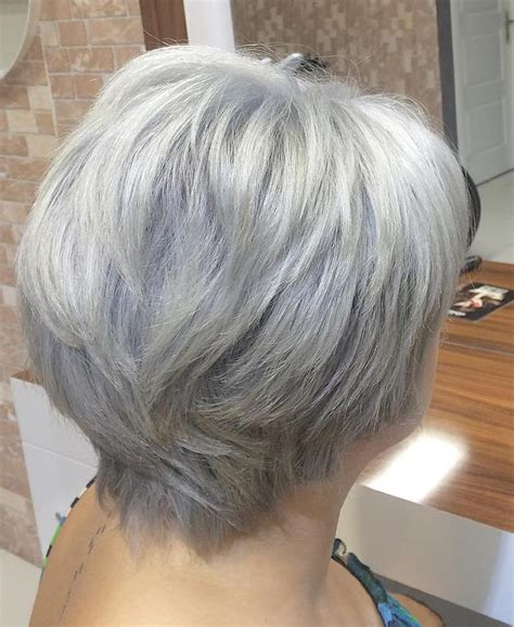 hairstyles layered bob for grey hair 60 gorgeous hairstyles for gray hair