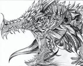 21 realistic dragon drawings free amp premium creatives
