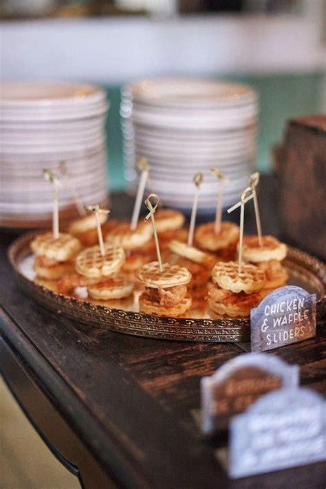sweet fall wedding appetizer ideas   puff