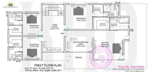 home designs unlimited floor plans wide contemporary house with floor plan kerala home