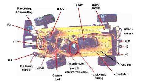 remote toy car circuit diagram