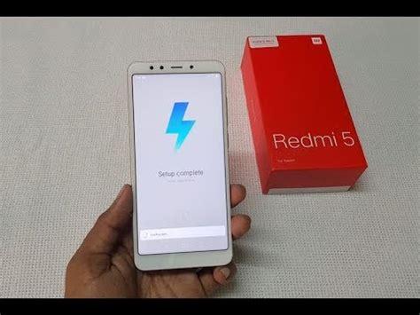 how to setup reset xiaomi redmi 5 smartphone
