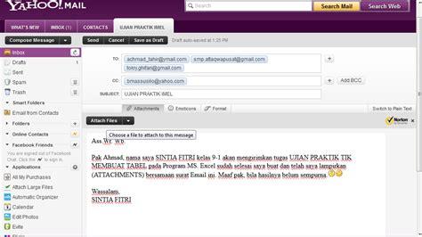 Baru Obral Girly Ok girly cara membuat email mengirim dan melirkan file attachment
