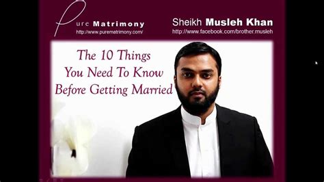 10 Things To Do Before You Get Married by 10 Things You Need To Before Getting Married Sheikh