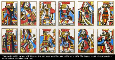 english pattern playing cards karl gerich the world of playing cards