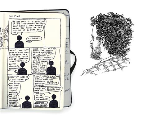 sketchbook story an artist transforms his sketchbooks into a story