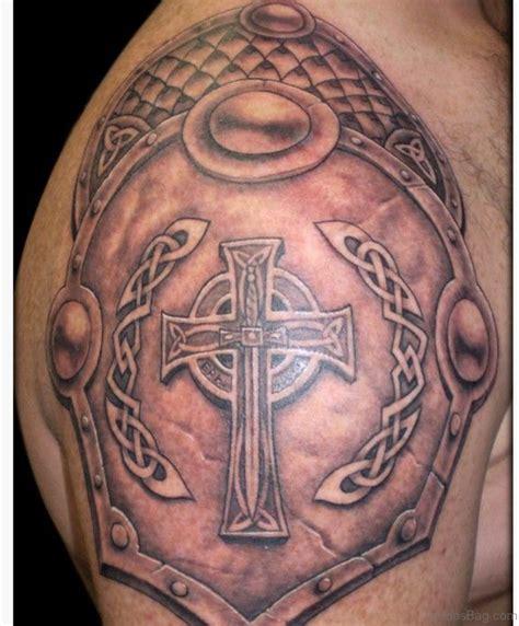 cross on shoulder tattoo 50 best celtic tattoos for shoulder