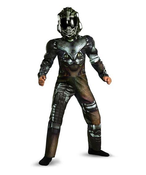 battleship regent alien muscle kids costume