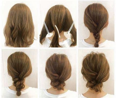 Hochzeitsfrisur Schulterlange Haare by Frisuren Machen Wie Die Profis