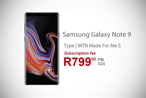 samsung note 9 deals awesome samsung galaxy note 9 contract deals in south africa