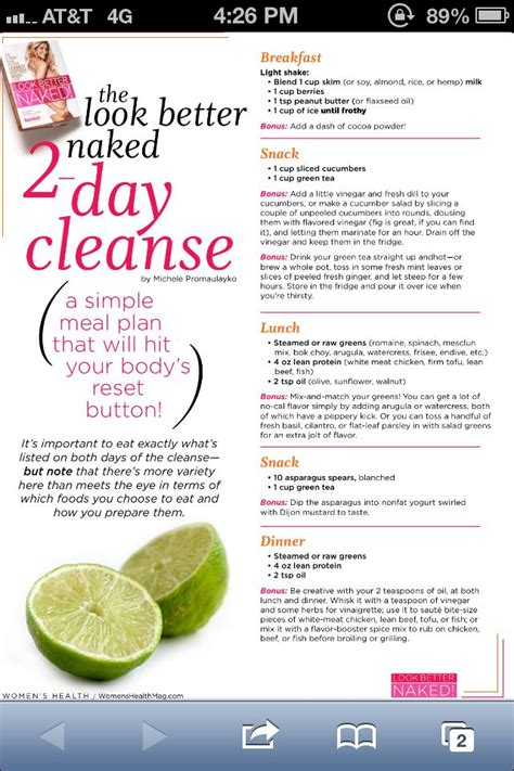 One Week Detox Menu by Best 25 One Day Cleanse Ideas On New You Diet