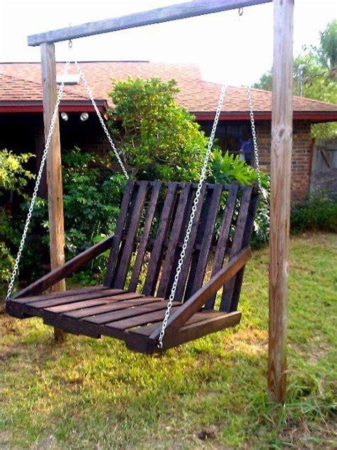 swing chair diy best 25 pallet swings ideas on pinterest diy swing