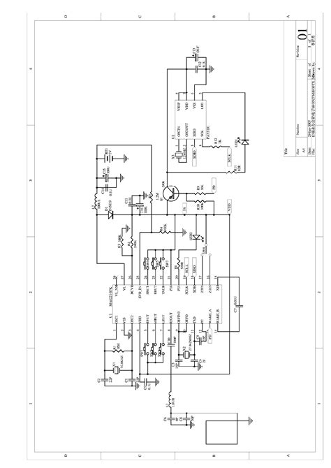 MD8320 Wireless Optical Mouse Schematics MD8320 circuit