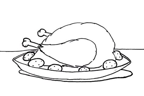 coloring page of chicken leg chicken food coloring www pixshark com images