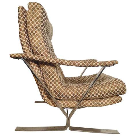 polished chrome frame armchair for sale at 1stdibs