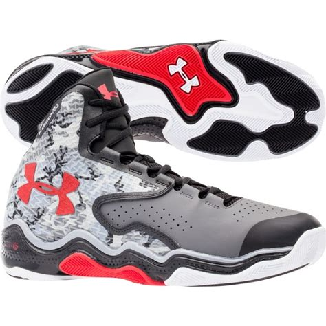 armour high top basketball shoes armour s clutchfit lightning basketball shoes