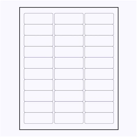 Free Printable Labels Avery 5160