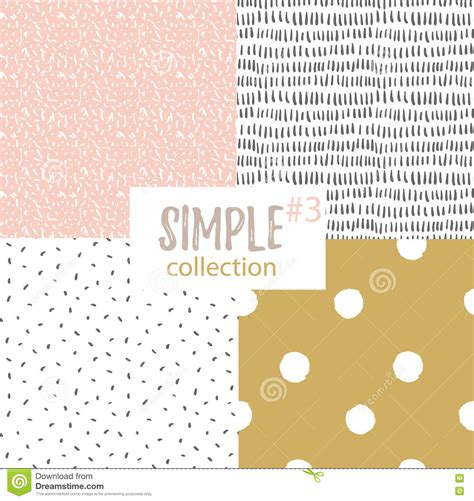 simple universal pattern vector seamless patterns with universal simple textures