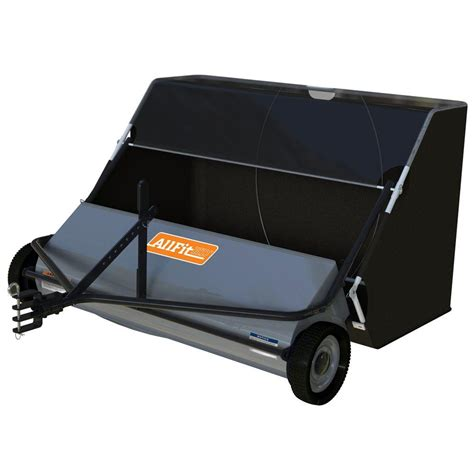 allfithd 58 5 in 26 cu ft lawn sweeper af 5026ls the