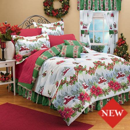 holiday comforters 154 best images about christmas bedrooms on pinterest