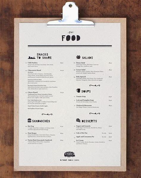 design menu restaurant inspiration restaurant menu design inspiration menu pinterest