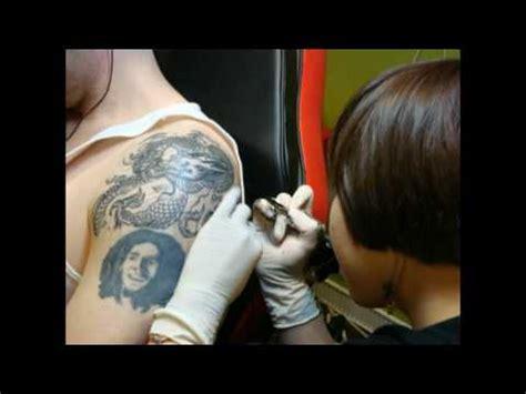 tattoo korea aerok tattoo korea by iroc kim youtube