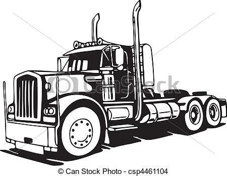 Custom Sticker Label Vinyl White 20 Cm Printlamcut eps vector of truck csp4461104 search clip