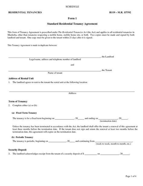 landlord contracts templates 15 best printable forms images on income