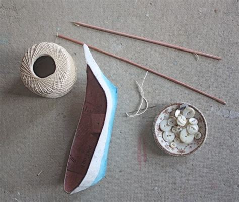 How To Make A Paper Mache Boat - paper mache boat pattern wood handmade