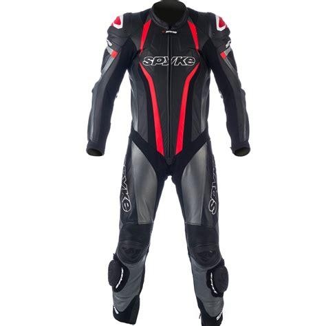 motorcycle suit mens spyke mix kangaroo leather motorcycle suits for mix