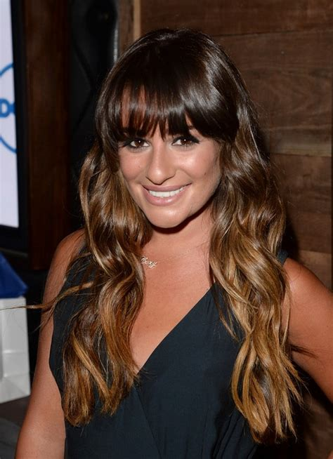 back to school hairstyles with bangs back to school hairstyles for long hair lea michele long