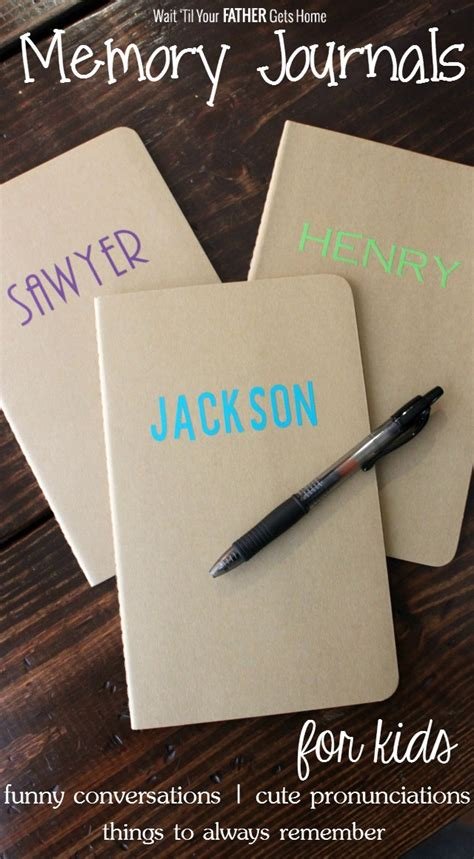memory journals for wait til your gets home