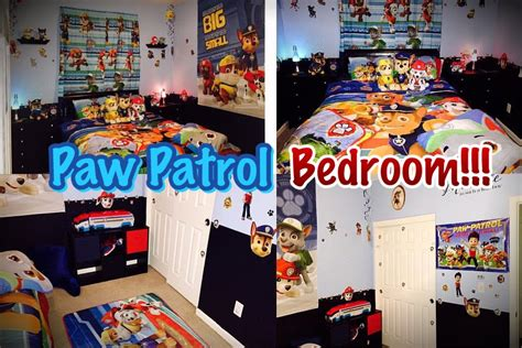 Paw Patrol Room Decor by Paw Patrol Bedroom Decor Money Saving Ideas