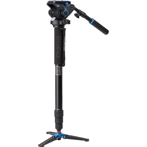 Monopod Benro benro a48tds6 series 4 aluminum monopod with 3 leg a48tds6 b h