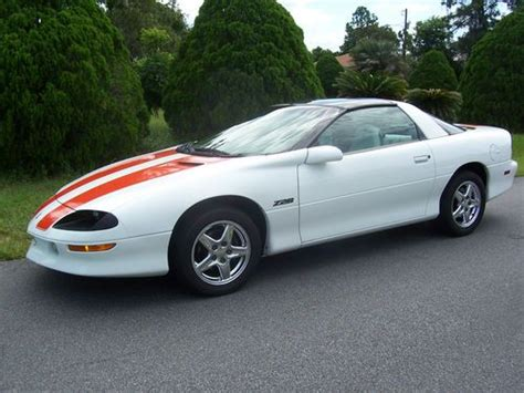 1997 camaro z28 anniversary edition sell used 1997 chevy camaro z28 30th anniversary edition