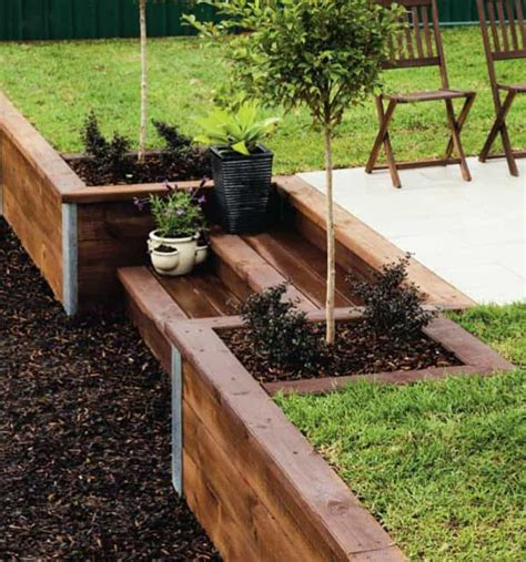 backyard retaining walls amazing ideas to plan a sloped backyard that you should
